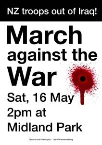 March against war May 2015