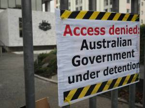 Access Denied at the Australian High Commission