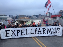 Expelliarmus banner at the 2017 Weapons Expo