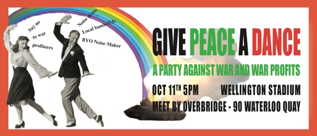 give peace a dance banner